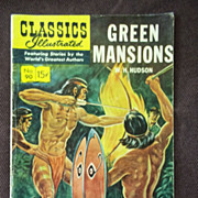 SOLD Classics Illustrated No. 90 Green Mansions
