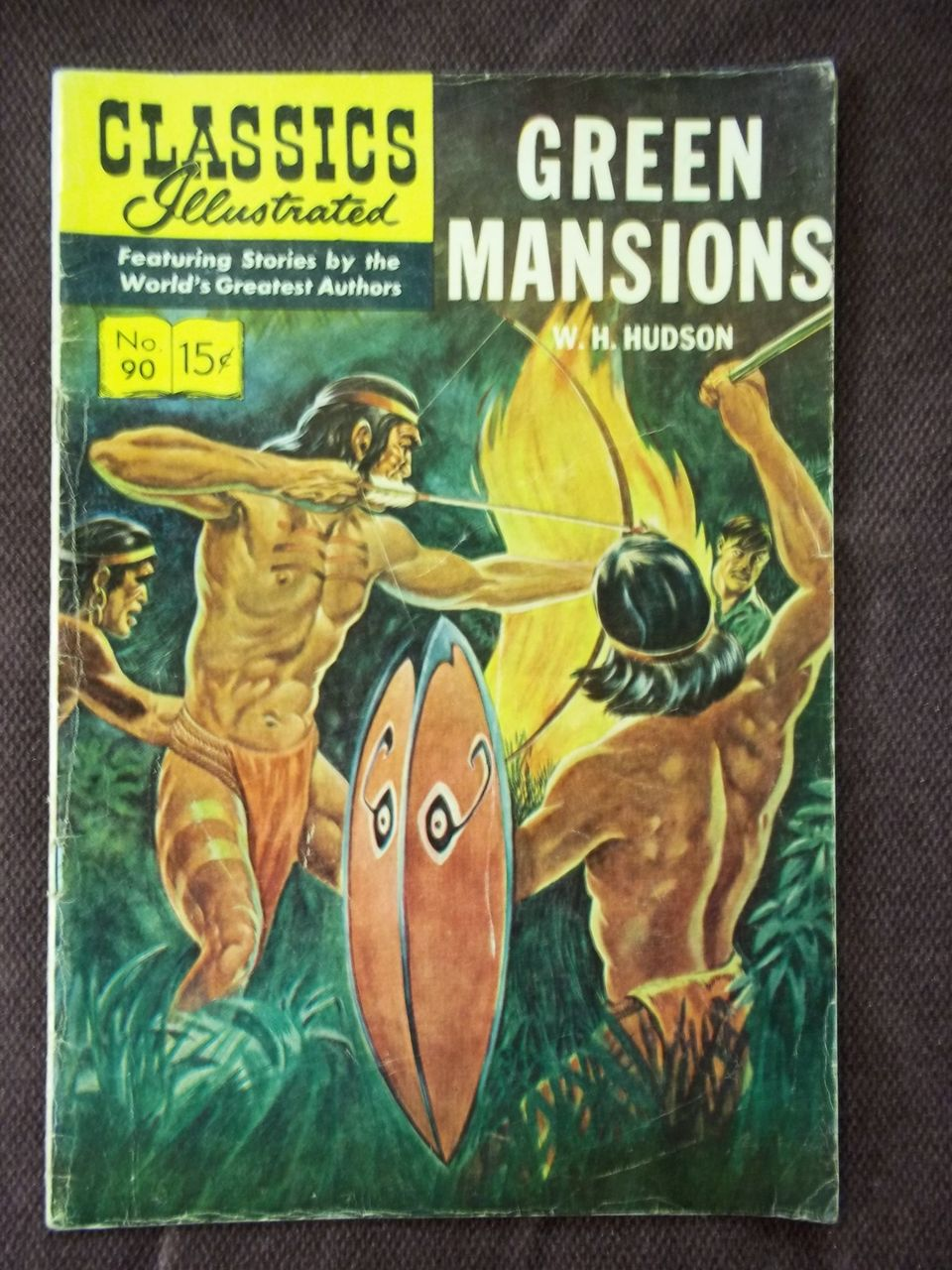 Classics Illustrated No. 90 Green Mansions
