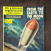 Classics Illustrated No. 105, March 1953,  From the Earth to the Moon