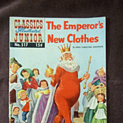 Classics Illustrated Junior, No. 517, July 1955: The Emperor's New Clothes