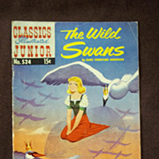 SOLD Classic Illustrated Junior, No. 524, March 1956: The Wild Swans