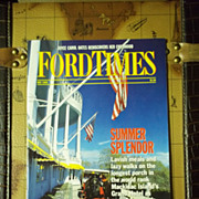 Vintage Ford Times Magazine: July 1989, Vol. 82, No. 7