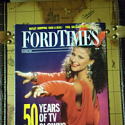 Vintage Ford Times Magazine: October 1989, Vol 82, No. 10