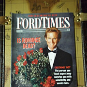 Vintage Ford Times Magazine: March 1990, Vol. 83, No. 3