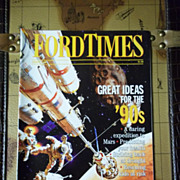 Vintage Ford Times Magazine: January 1990, Vol 83, No. 1