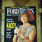 SOLD Vintage Ford Times Magazine: February 1990, Vol. 83, No.2
