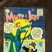 DC Comics Mutt & Jeff No. 83, December 1955