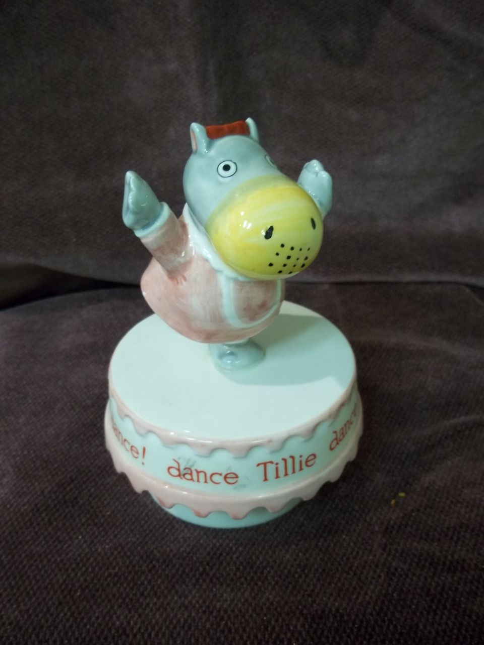 Vintage Richard Scarry's Best Ever Music Box : Dance Tillie Dance!