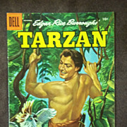 Dell Comics Edgar Rice Burroughs' Tarzan Vol. 1 No. 74 November 1955