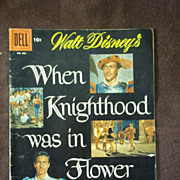 Dell Comics No. 682 Walt Disney's When Knighthood Was in Flower 1953