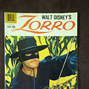 Dell Comics Walt Disney's Zorro No. 976 1959