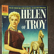 Dell Comics Movie Classics No. 684 Helen of Troy 1956