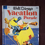 Dell Comics Walt Disney's Vacation Parade No. 4, 1953