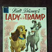 Dell Comics Walt Disney's Lady and the Tramp No.1, 1955