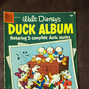 Dell Comics Walt Disney's Duck Album No. 611 1954