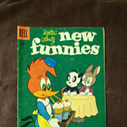 Dell Comics Walter Lantz New Funnies Vol. 1, No. 231 May 1956