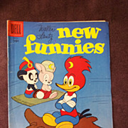 Dell Comics Walter Lantz New Funnies Vol. 1 No. 242 April 1957
