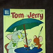 Dell Comics Tom and Jerry Comics Vol. 1 No. 153 April 1957