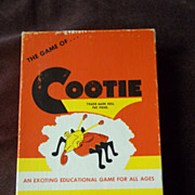 The Game of Cootie, 1949 WH Schaper Mfg.