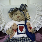 SOLD Adorable Country Style Girl Teddy