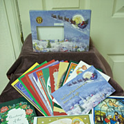 VFW Annual Christmas Cards: Set of 16, Unused