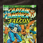 Marvel Comics Captain America and the Falcon Vol. 1 No. 196 April 1976