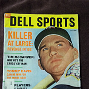 Dell Sports Magazine No. 63, July 1968
