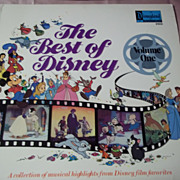 Disneyland Records The Best of Disney Vol. I