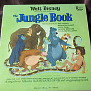 Disneyland Records Walt Disney Presents the Story and Songs of The Jungle Book Vinyl Record