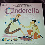 SOLD Disneyland Records All the Songs from Walt Disney's Cinderella Vinyl Record