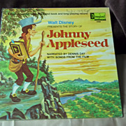 Disneyland Records Walt Disney Presents the Story of Johnny Appleseed