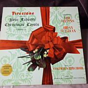 Firestone Presents Your Favorite Christmas Carols Vol. 2 Vinyl Record