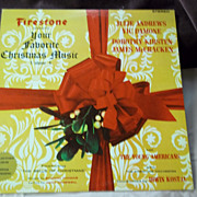 Firestone Presents Your Favorite Christmas Music Vol. 4 Vinyl Record