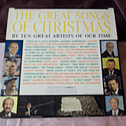 Goodyear Tire Ltd. Edition Great Songs of Christmas Album 1 Vinyl Record