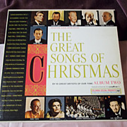 Goodyear Tire Ltd. Edition Great Songs of Christmas Album 2 Vinyl Record