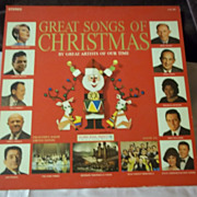 Goodyear Tire Ltd. Edition Great Songs of Christmas Album 6 Vinyl Record