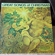 Goodyear Tire Ltd. Edition Great Songs of Christmas Album 8 Vinyl Record