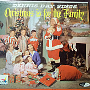 SOLD Dennis Day Sings Christmas is For the Family 1957 Vinyl Record