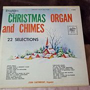 Christmas Organ and Chimes 22 Selections Golden Tone HI-FI Vinyl Record