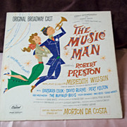 Capitol Records The Music Man Soundtrack Original Broadway Cast Vinyl Record