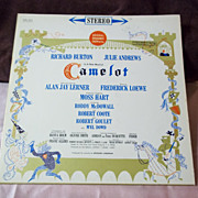 Columbia Records Camelot Soundtrack Original Broadway Cast Vinyl Record
