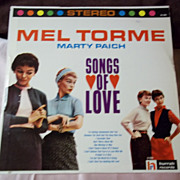 Hurrah Records Vintage Vinyl: Mel Torme, Marty Paich Songs of Love