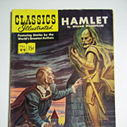 1st Edition Classics Illustrated No. 99 Hamlet HRN 98