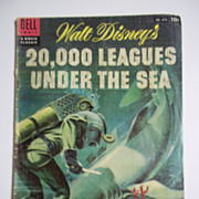SOLD Dell Movie Classics Comic No. 614 Walt Disney's 20,000 Leagues Under the ...