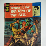 RARE! Gold Key Comics Voyage to the Bottom of the Sea No. 15 June 1969