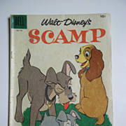 Dell Comics Walt Disney's Scamp No. 703 1956