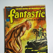 Fantastic Adventures No. 2 Vol. 14 Feb. 1952 Pulp Science Fiction Magazine