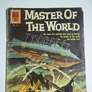 SOLD Dell Comics Master of the World No. 1157 1961