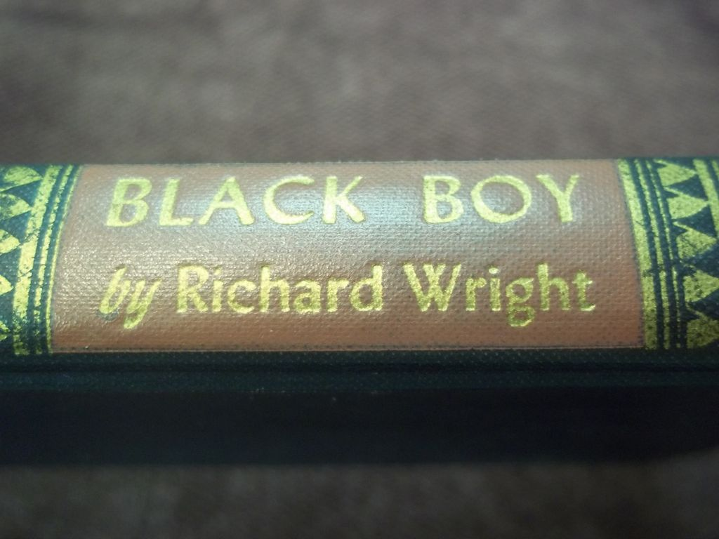 Black Boy, Richard Wright, Harper & Bros. 1945