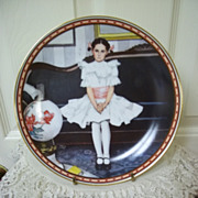 Knowles Norman Rockwell 's A Mind of Her Own Series, Plate 1: Sitting Pretty!